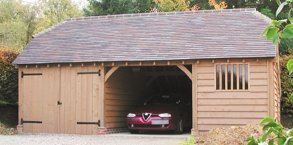 Two Oak Bay With Lockable Garage And Store From The