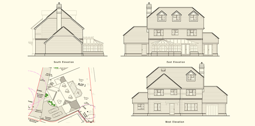 New Build Plans 5 Bedroom Family House From The
